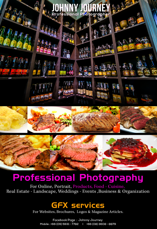 Banner Advertising & Photography Service Udon Web Design